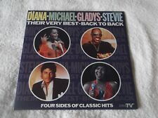 Diana - Michael - Gladys - Stevie - Their Very Best - Back To Back ; RARE 2-LP