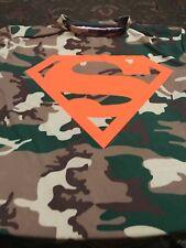 Under Armor Superman Camo T-shirt Size Medium