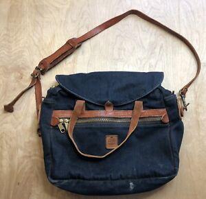 Filson X Lucky Brand Briefcase Suit Case Messenger Bag Selvedge Japanese Denim