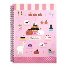 Tryworks Kapybara san Hard Cover College Ruled Notebook Note Pad : Dessert