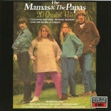 THE MAMAS AND THE PAPAS - 20 GREATEST HITS 1992 UK CD