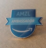 RARE!! Amazon AMZL Ambassador with a SMILE Peccy Collector Enamel Pin