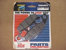 SBS 597LF REAR FA129 SINTERED MOTORCYCLE BRAKE PADS 1 PAIR