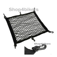 Cargo helmet storage net extra strong large 42 x 42 cm motorcycle scooter