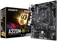Gigabyte A320M-H mATX Carte mère pour AMD AM4 processeurs