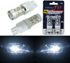 LED Light 50W 7444 White 5000K Two Bulbs Front Turn Signal Replace Upgrade Lamp