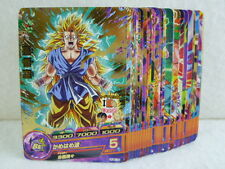 DRAGON BALL / HEROES CARD, PAPER / HJ6, JM6 / COMMON and RARE CARDS COMPLETE SET