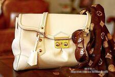 LOUIS VUITTON White Suhali Leather Ladies Bag M95848