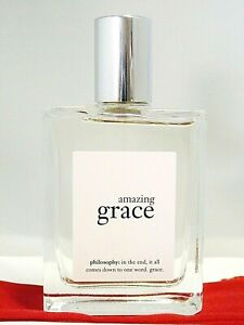 AMAZING GRACE BY PHILOSPHY 1 0Z EDT+ POUCH+ PURSE ATOMIZER  BEST PRICE ON EBAY