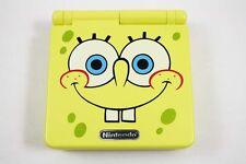 Nintendo Game Boy Advance GBA SP Custom Spongebob Yellow System AGS 001 MINT