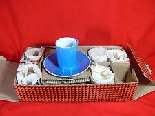 VINTAGE Schmid Japan Espresso Coffee Cup Set, Lagardo Tackett Design, 1960s, NEW