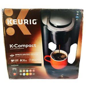 Keurig K-Compact Single-Serve Space Saving K-Cup Pod Coffee Maker Black Home New