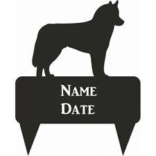 Husky Rectangular Memorial Plaque