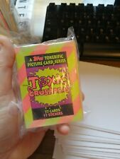 TOXIC CRUSADERS TOPPS 1991 TRADING CARDS - COMPLETE SET AND STICKERS TROMA