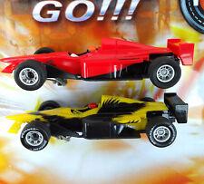 Carrera Go 2x Auto Set Formel 1 mit Stickern NEU 1:43 TOP CARS Slotcar