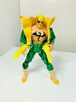 Vintage Marvel Gold 1996 ToyBiz Iron Fist Action Figure Collector's Edition Toy