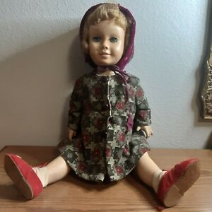 Vintage Prototype Cathy Chatty Pull String Doll
