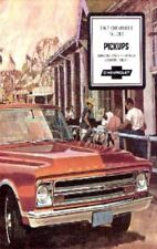 CHEVROLET 1967 Truck Sales Brochure 67 Chevy Pick Up