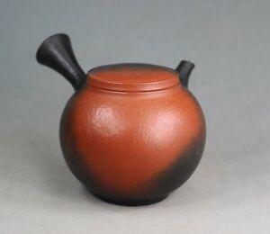 Tokoname Hand-made Yohen Tataki Teapot by Yoshiki, #yoshiki65 : D93*H80m, 310ml