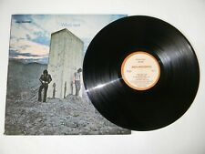 The Who US LP Who's Next MCA-3024 VG+ '71 Baba O'Riley Behind Blue Eyes