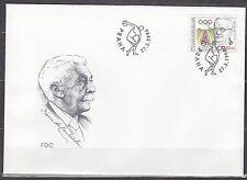 CZECH REPUBLIK  1996 FDC SC# 2983  Modern Olympic Games - Jiri Guth - Jurkovsky