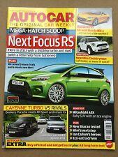 Autocar Magazine - 21 July 2010 - Focus RS Cayenne Turbo v Rivals Mitsubishi ASX