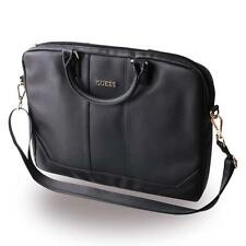 Genuine Guess Saffiano Computer Bag 15'' - Black