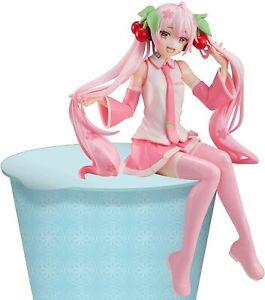 Offiziell Lizenzierte Vocaloid Statue Figur Noodle Stopper Sakura Miku