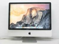 "Apple iMac Mid 2007 Core 2 Duo@2.8 GHz 4GB 500GB HDD 24"" OS X Yosemite/office"