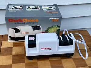 Chef's Choice Diamond Hone Electric Knife Sharpener Professional 100