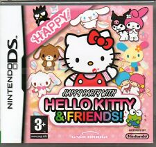 HELLO KITTY & FRIENDS HAPPY PARTY GAME DS DSi Lite ~ NEW / SEALED