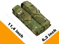 Pouch Case molle tactical Harnesses MULTICAM PAINTBALL airsoft bag tube 160 pods