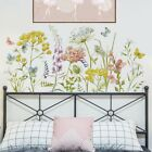 Colorful Floral Plants Flowers Butterfly Walls Sticker Art Decal Home Decoration