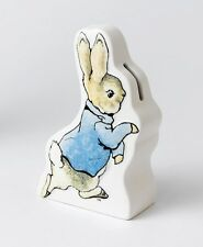 Beatrix Potter Peter Rabbit Money Bank New Baby Boy / Christening Gift 19783