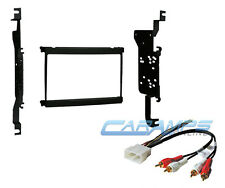 1992-2000 LEXUS SC DOUBLE 2 DIN CAR STEREO RADIO INSTALL KIT W AMPLIFIED HARNESS