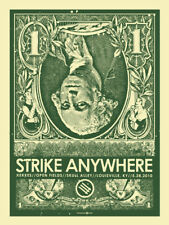 Strike Anywhere May 2010 Limited Edition Gig Poster