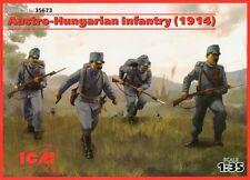 AUSTRO-UNGARICO FANTERIA - 1914 (con le armi) # 35673 1/35 ICM