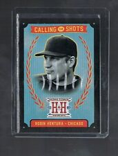 2013 panini Hometown Heroes Black Version Calling The Shots ROBIN VENTURA #CS12