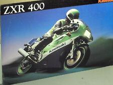 PROSPECTUS  KAWASAKI ZXR 400 / 1990