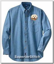 HAVANESE embroidered denim shirt XS-XL