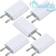 5x USB Ladegerät Adapter Haus Netzstecker Stecker kompatibel Samsung Huawei 220V