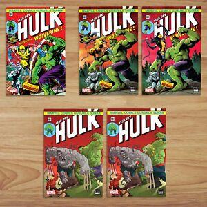 Incredible Hulk #181 International Turkish Edition Reprint (Set of 5)