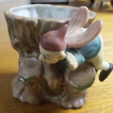 Vintage Porcelain Maruni Vase with Winged Elf