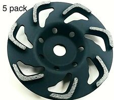 5pk 6 Diamond Cup Wheel With 19mm Arbor Fits Hilti Dg150