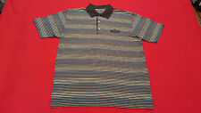 Ben Hogan Polo Golf Shirt Logo THE LAS VEGAS C.C. Med - Black,Blue, Grey, Whte