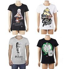 BOOM BAP Herren T-Shirt Top-Seller Shirts Vintage Jersey Print Spring Summer Neu