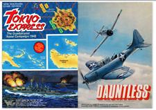 Dauntless - Tokyo Express - 2 Wargames - Avalon Hill PDF format on DVD
