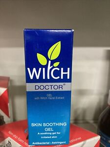 6 X Witch Doctor Hazel Skin  Soothing  Treatment Antiseptic Gel 35g.