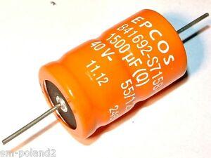 condensador 105 ° C 4 Elko epcos 6800uf 40v rm10