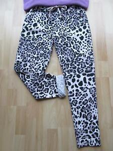 Schöne LEO Jogpant Joggpants Jogginghose Hose Taschen 36 38 40 grau flie schwarz